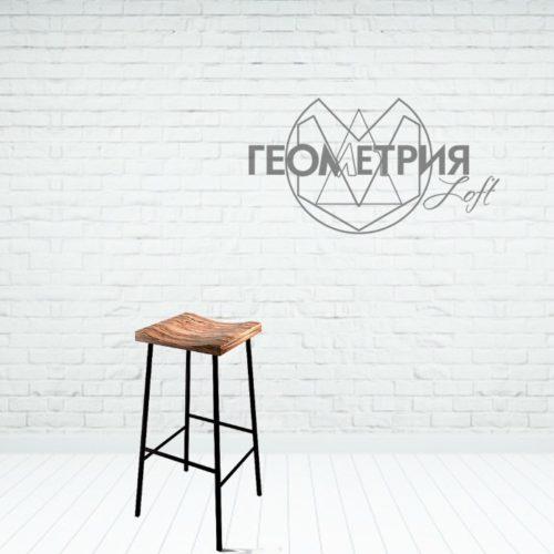 Барный стул лофт из металла