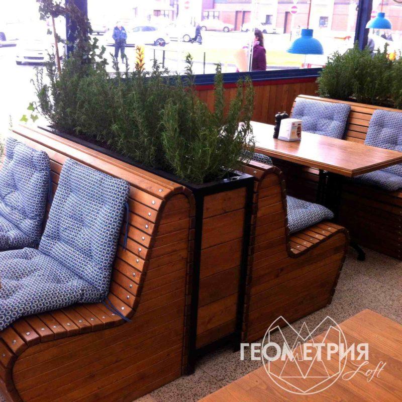 Мебель под заказ для кафе