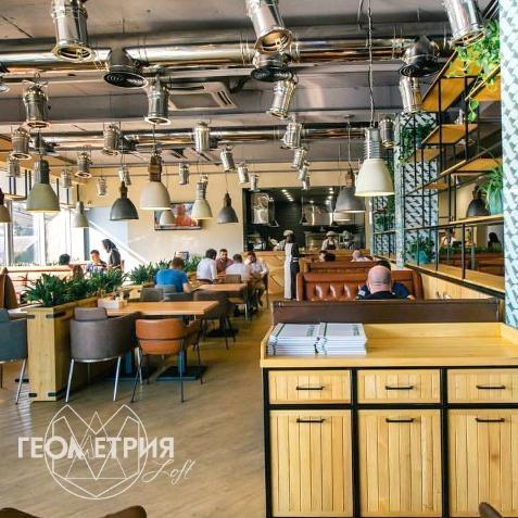мебель лофт для кафе ресторанов
