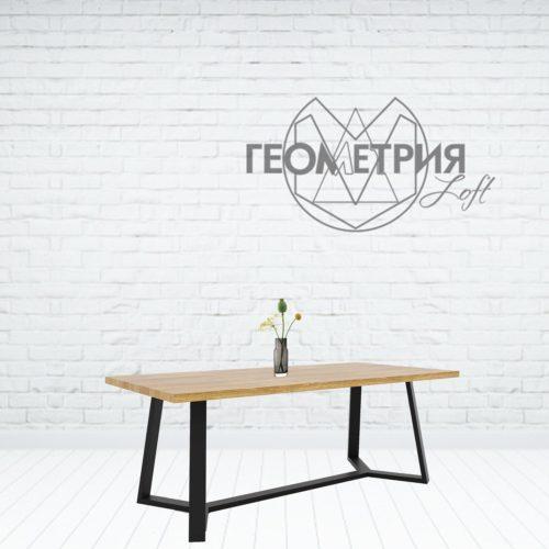 Обеденный стол для столовой в стиле Лофт
