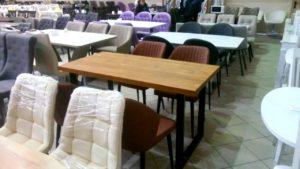 Стол лофт выполненный по заказу в Пензу