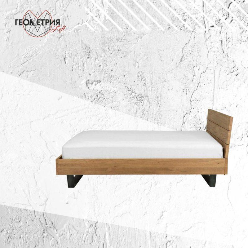 Кровать лофт из натурального дерева