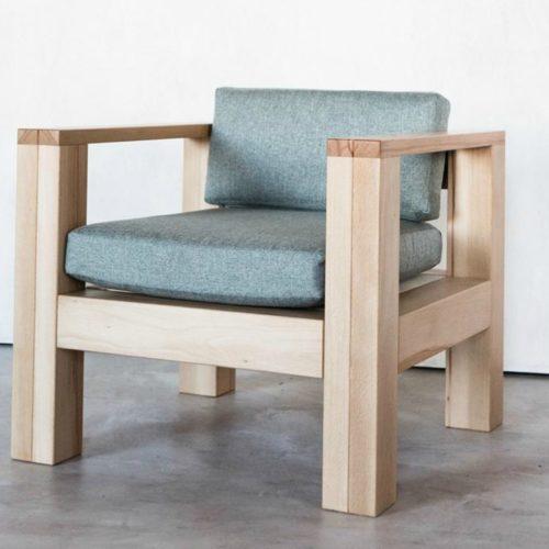 Кресло в стиле кантри лофт