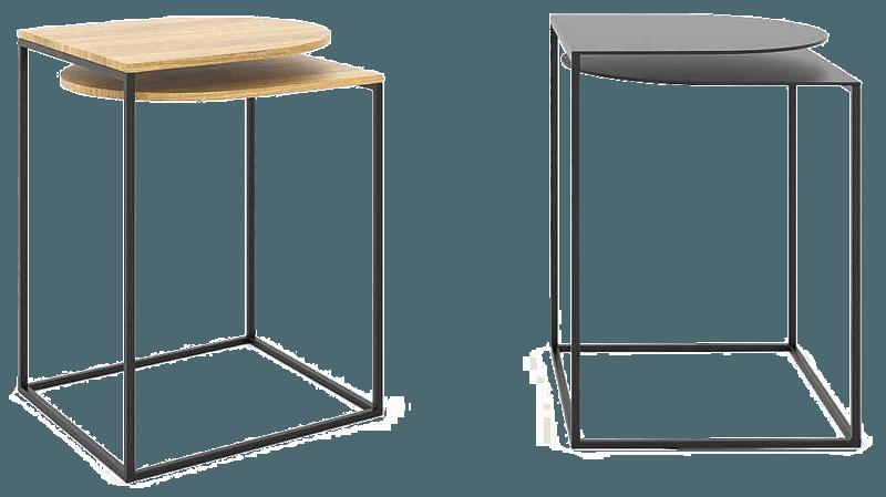 Журнальный столик лофт (Пара). Артикул szl - 1 1