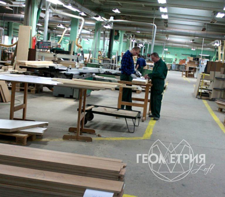 Фабричное производство мебели лофт