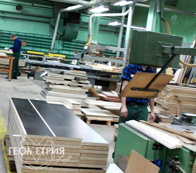 Мебель лофт производство в России