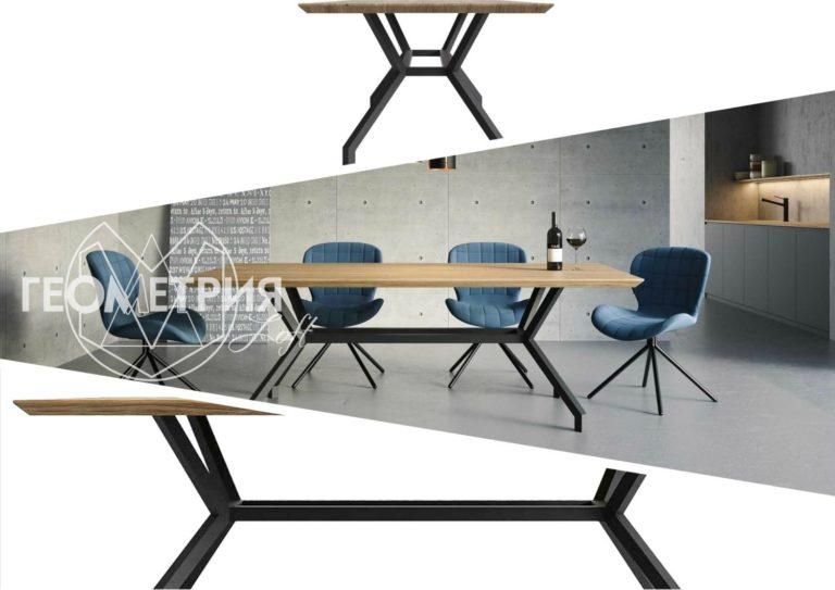 Стольные столы лофт производство
