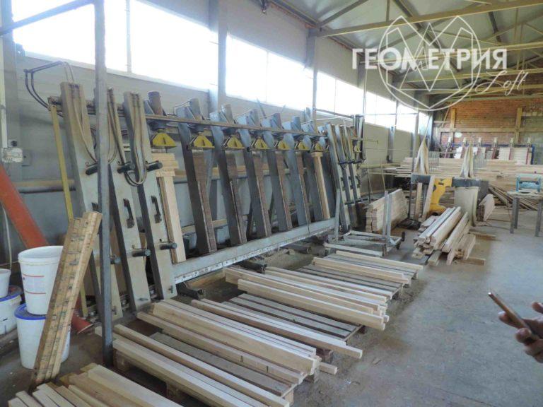 Производство щитов из массива для мебельного производства