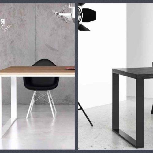 Столы лофт на металлокаркасе