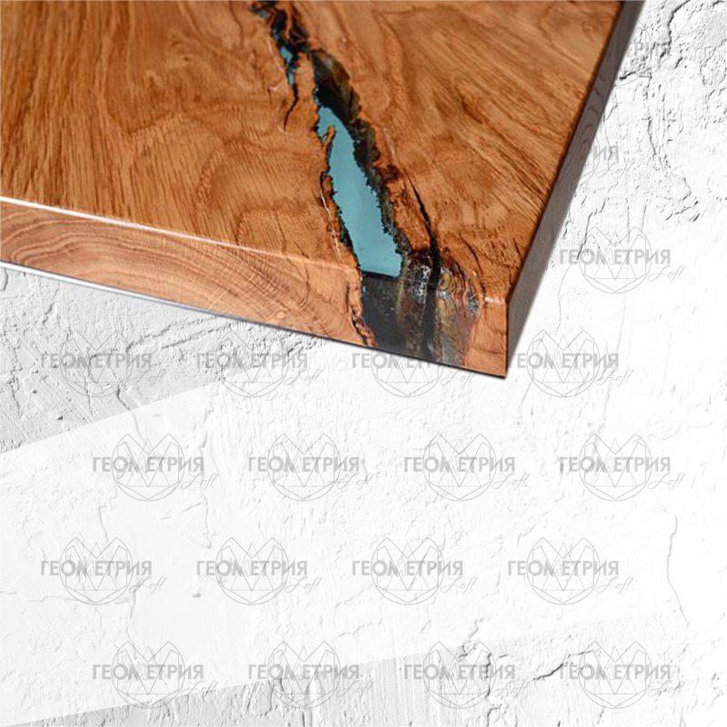 Кофейный столик лофт. Артикул zr-6