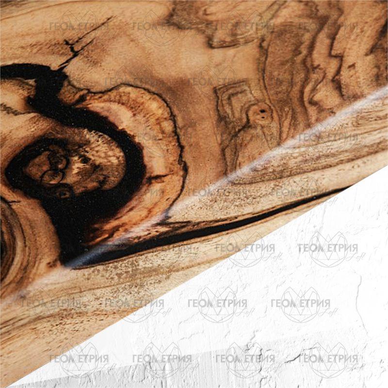 Раскладной стол с черной рекой. Артикул sr-4 3
