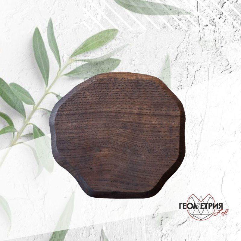 Деревянная тарелка для подачи. Артикул rw-8 2