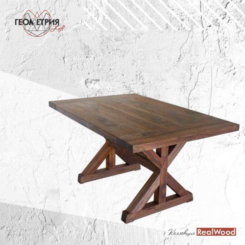 Стол для кухни из массива дерева
