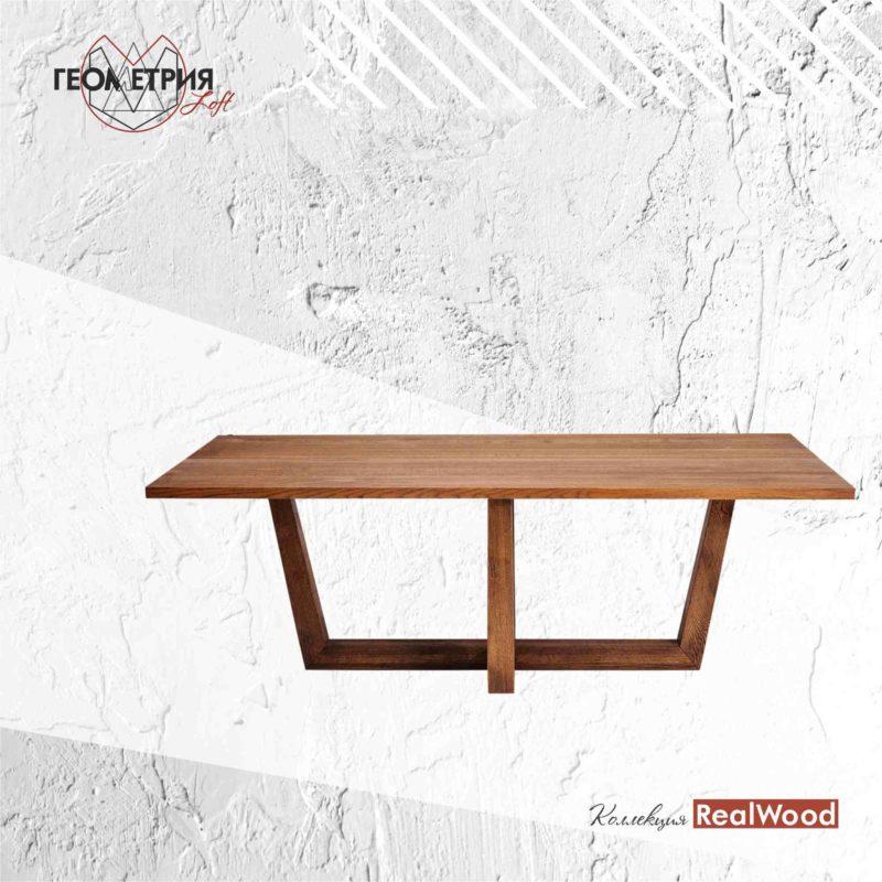 Стол из дерева под заказ. Артикул rw-5 1