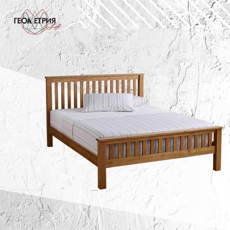Кровать ручной работы из дерева