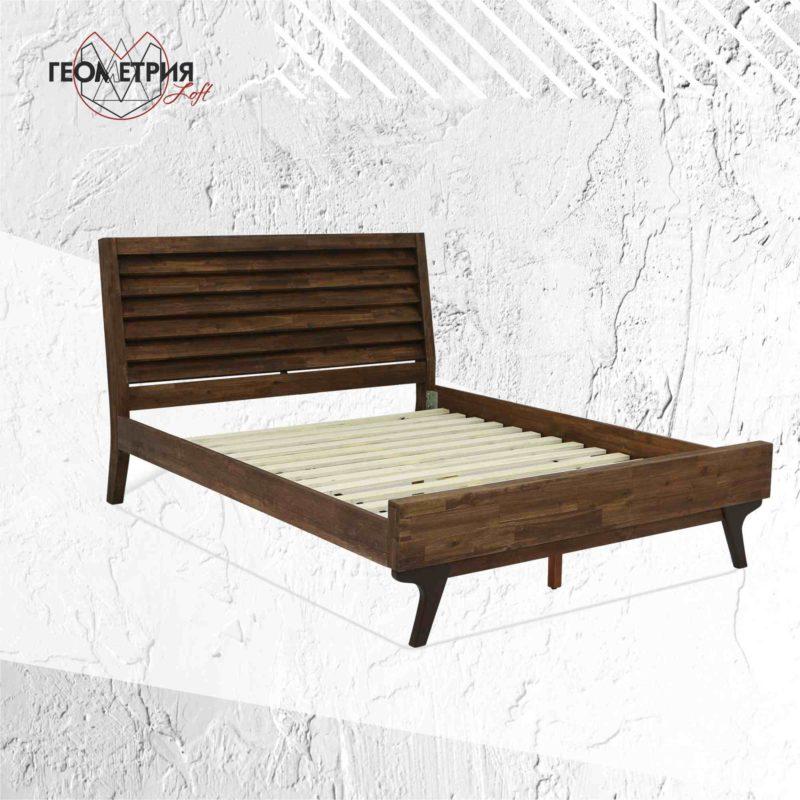 Кровати лофт на заказ из твердых пород древесины и металла