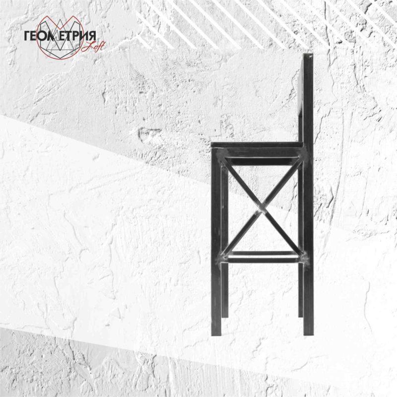 Стильный барный стул в стиле лофт