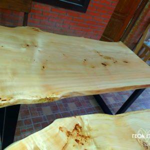 Столы со слэбов дерева