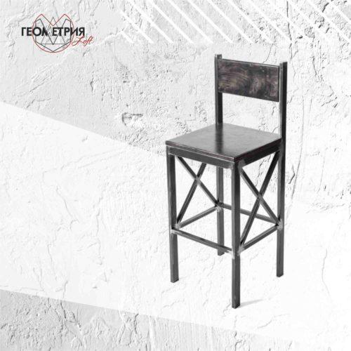 Барный стул из профильной трубы