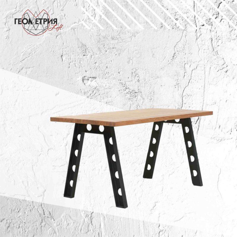Обеденный стол для кафе в стиле лофт