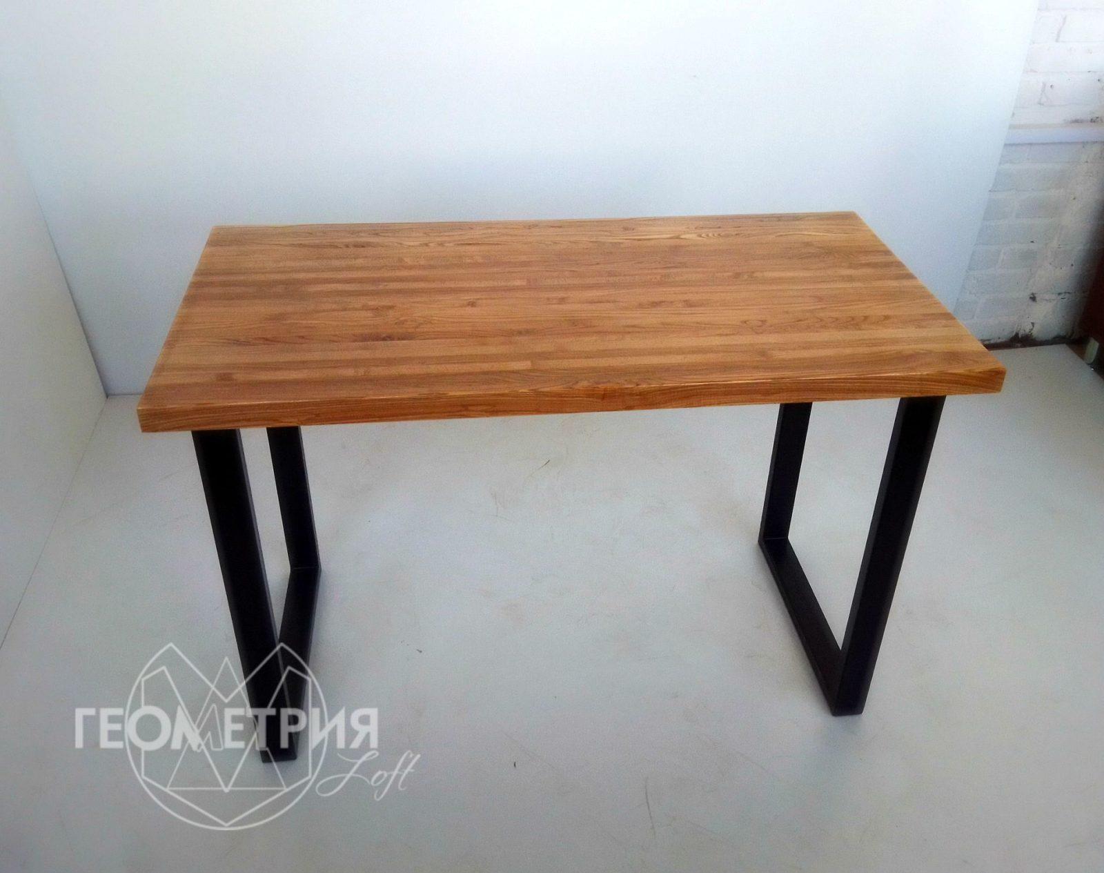 Стол из ясеня в стиле лофт