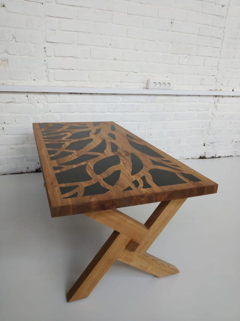 Деревянный кофейный столик. Артикул zs-6 3