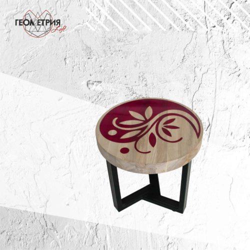 Кофейный столик из ясеня