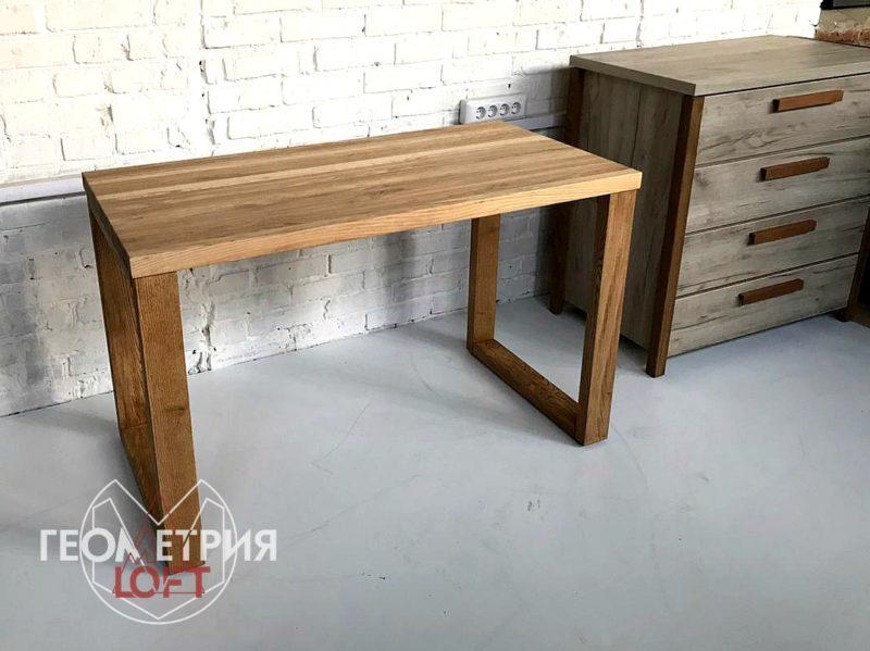 Простой стол из дерева. Артикул rw-9 1