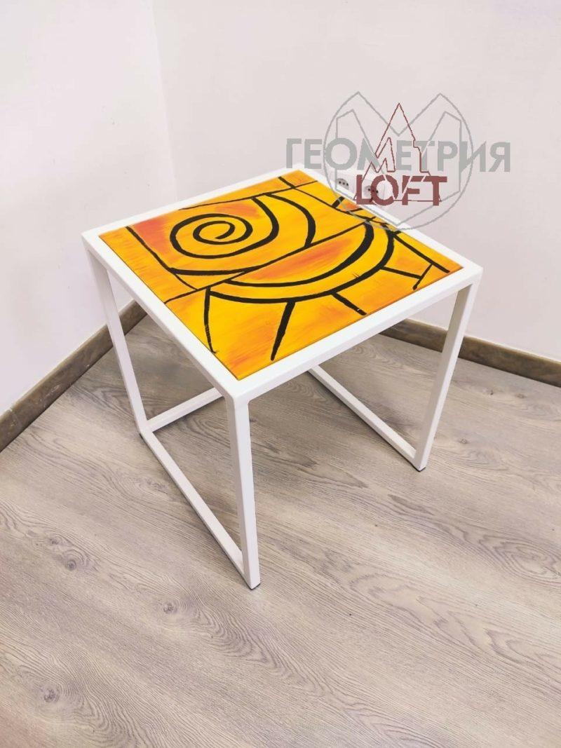 """Кофейный столик """"Апельсиновый закат"""" 1"""
