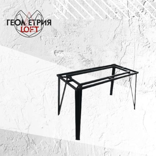 Подстолье для стола металлическое в стиле лофт