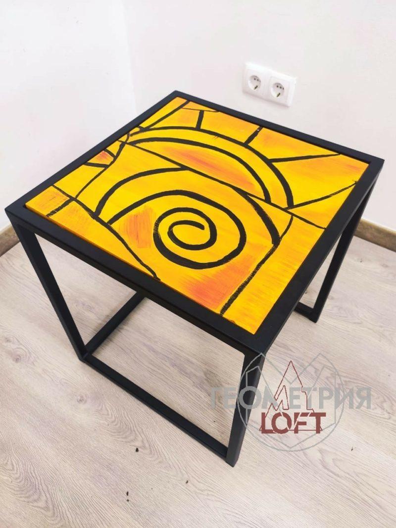 """Кофейный столик """"Апельсиновый закат"""" 2"""