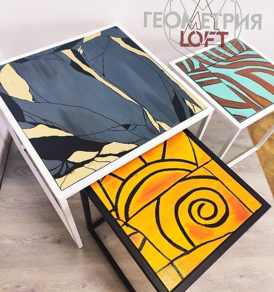 Новая коллекция кофейных столиков. 2