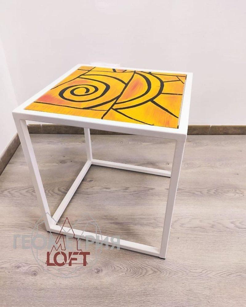 """Кофейный столик """"Апельсиновый закат"""" 3"""