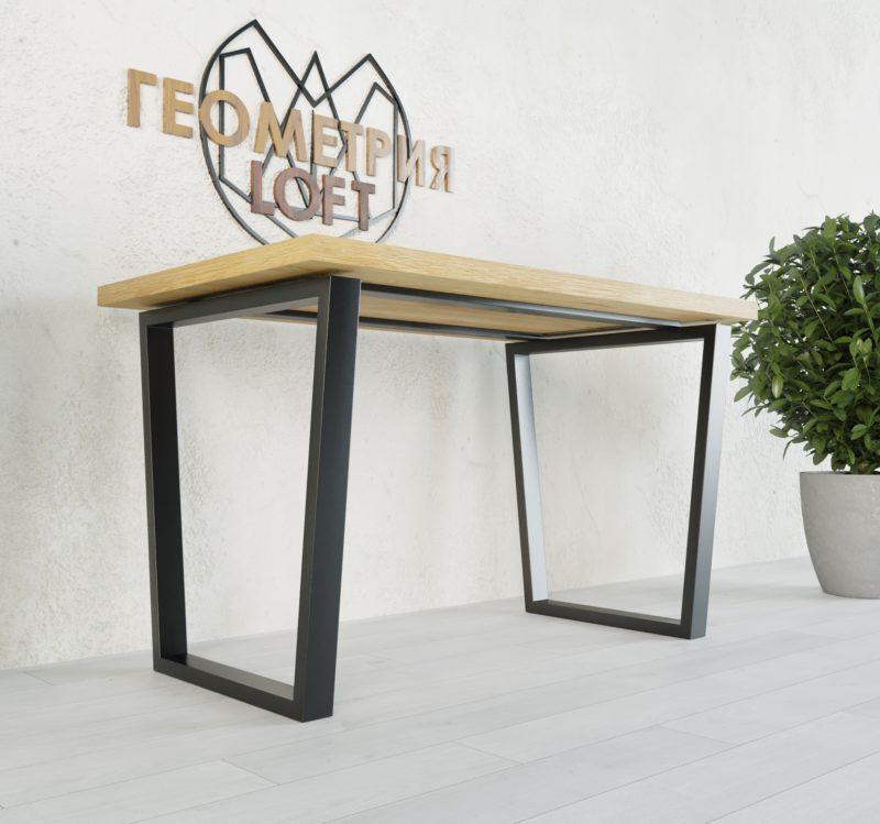 Стол лофт с разборным подстольем. Артикул stl-26 RifeLoft 1
