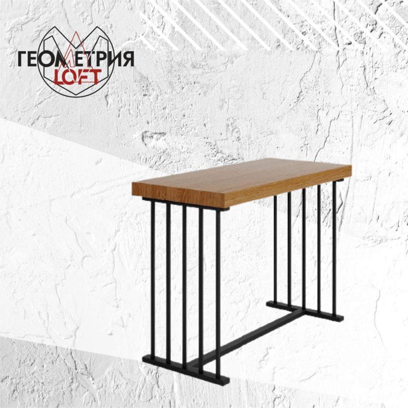 Барный стол лофт. Артикул bst-1 1