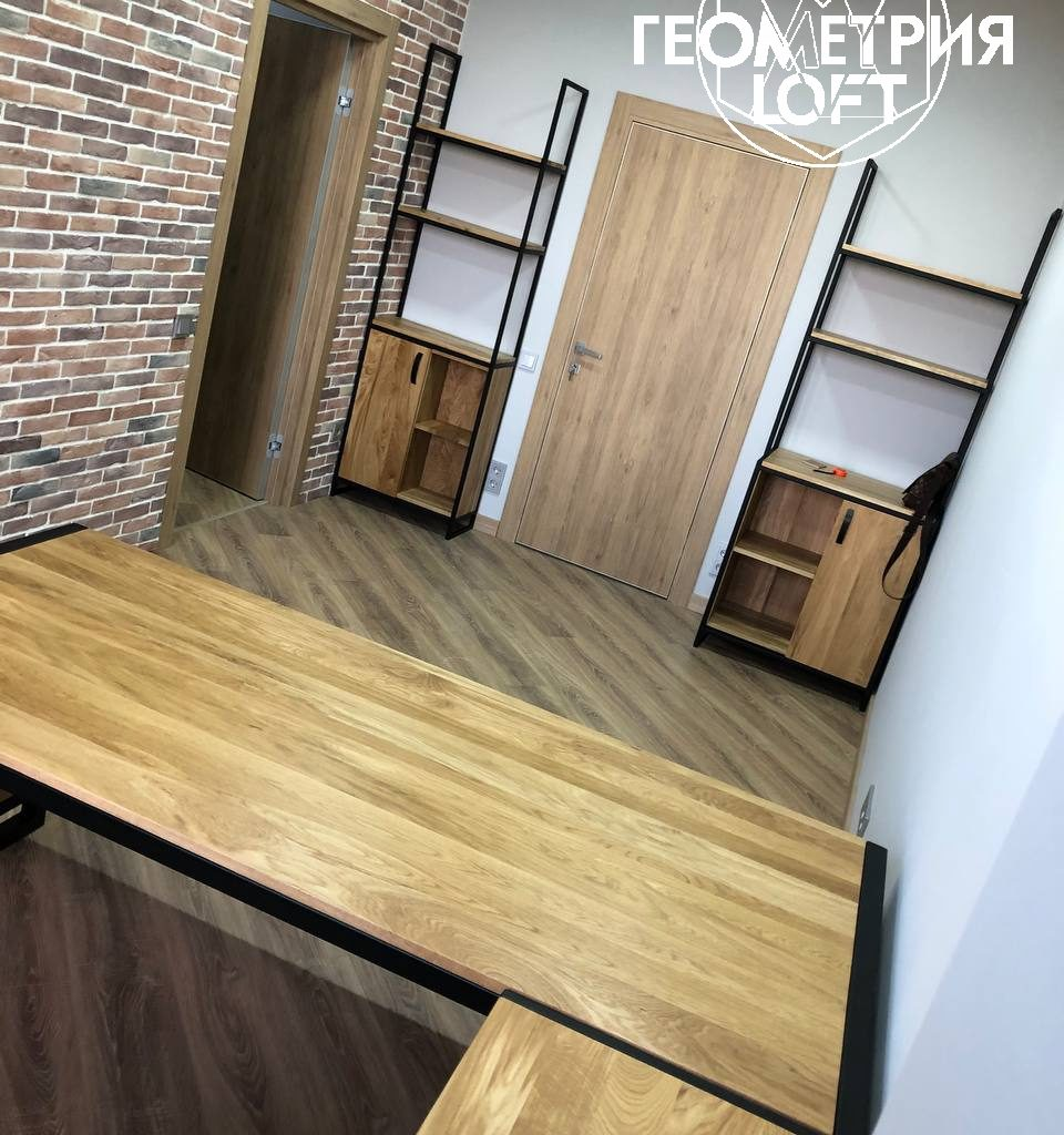 Мебель для офиса в стиле лофт