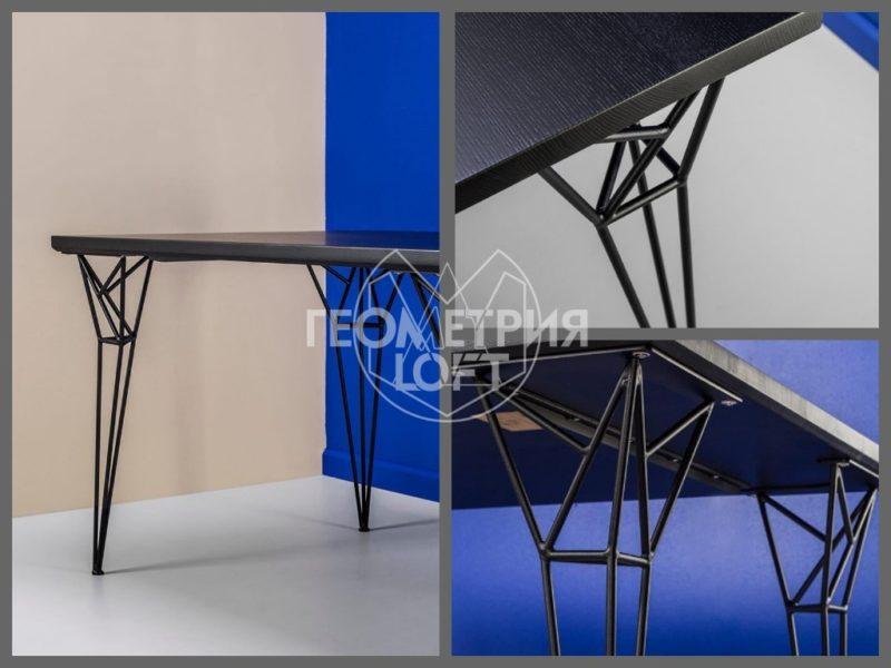 Авторский стол лофт из коллекции Grani. Артикул stf-1 3
