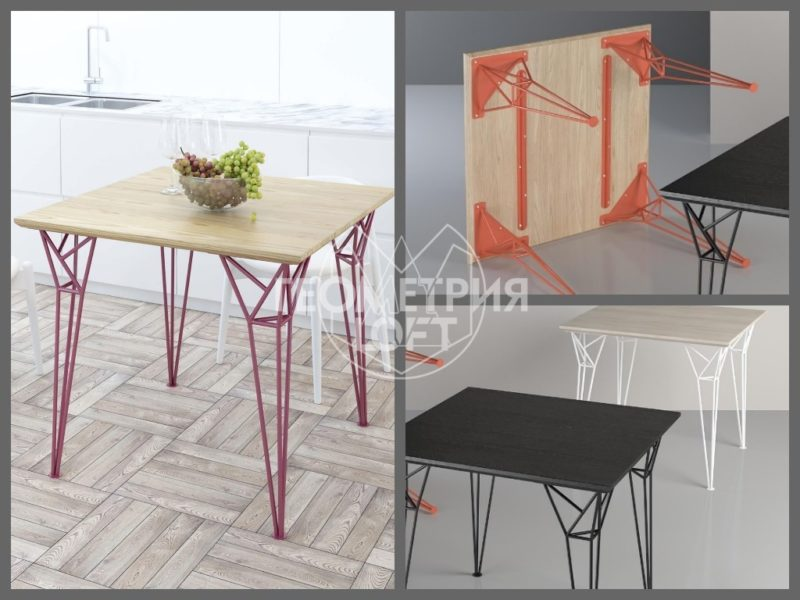 Стильные столы лофт