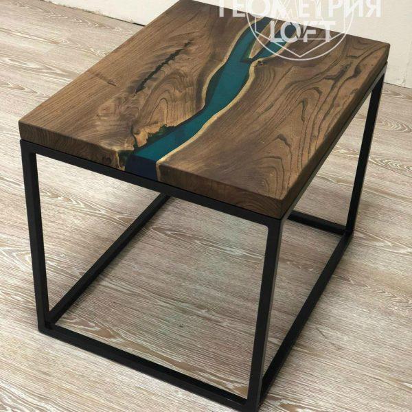 Производство столов из эпоксидной смолы